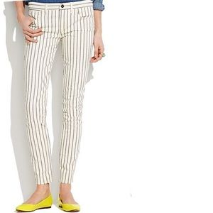 Madewell Striped Jeans
